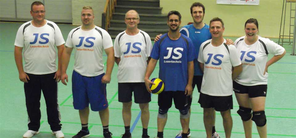 JS Lasertechnik goes Volleyball!
